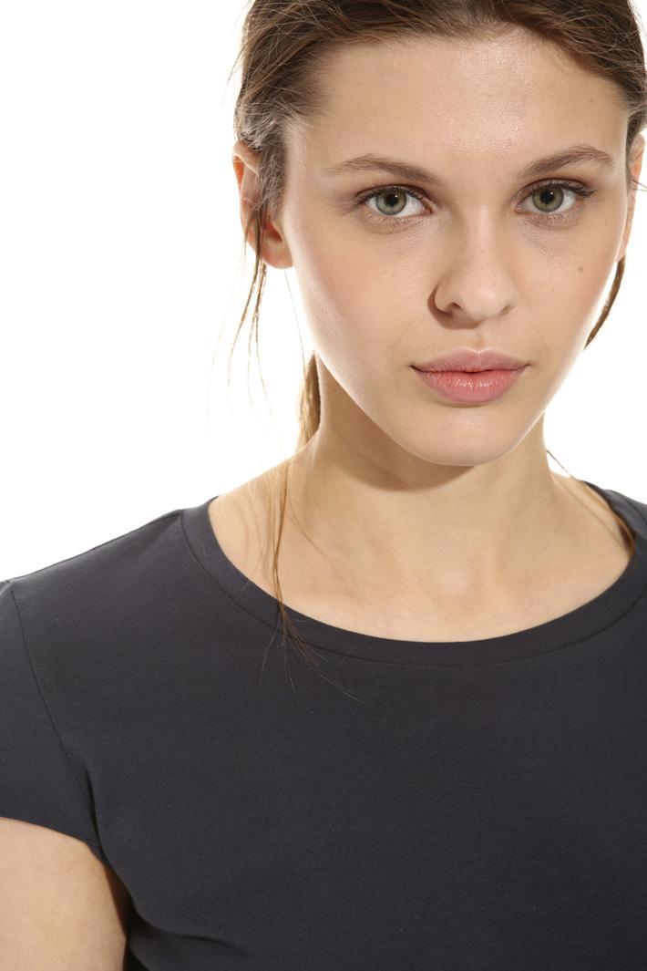 Jersey interlock T-shirt Intrend