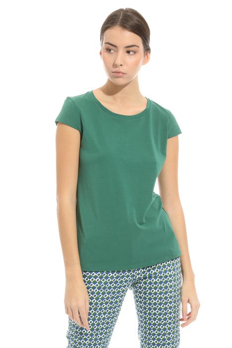T-shirt in jersey interlock Diffusione Tessile
