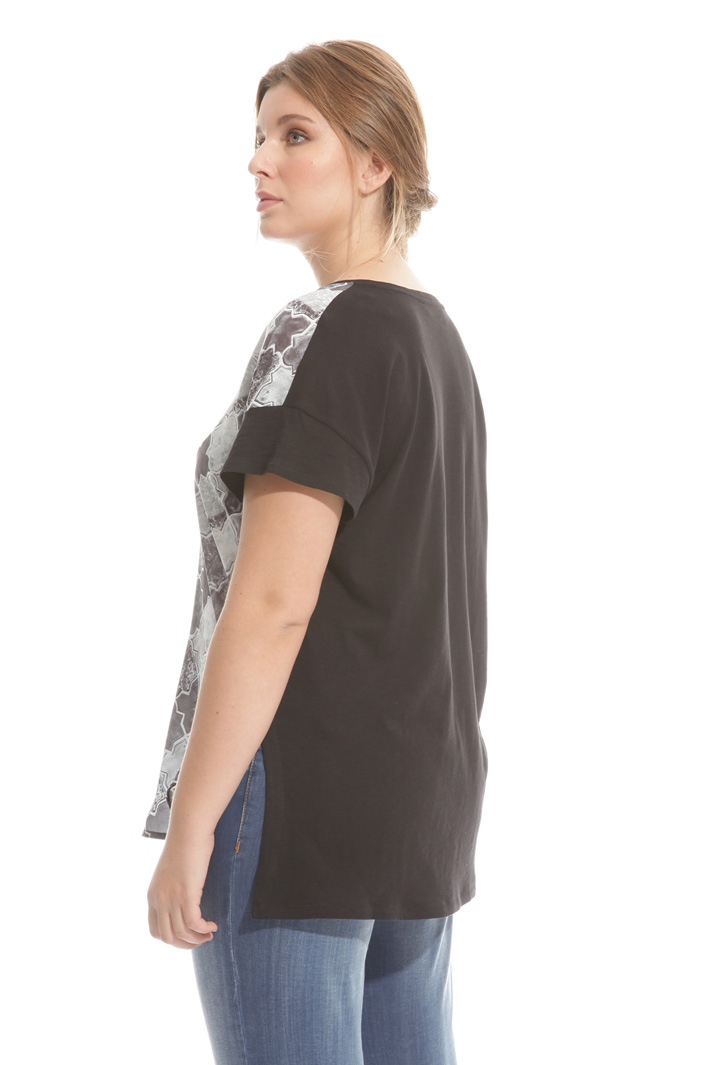 T-shirt in jersey stampato Intrend