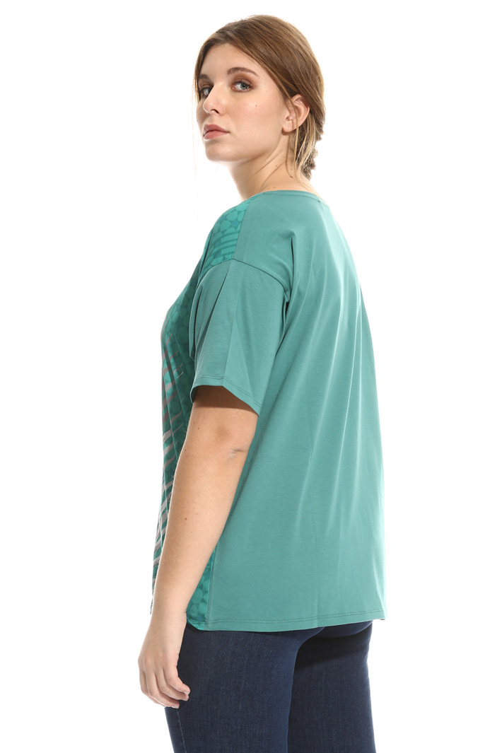 T-shirt in jersey stampata Intrend