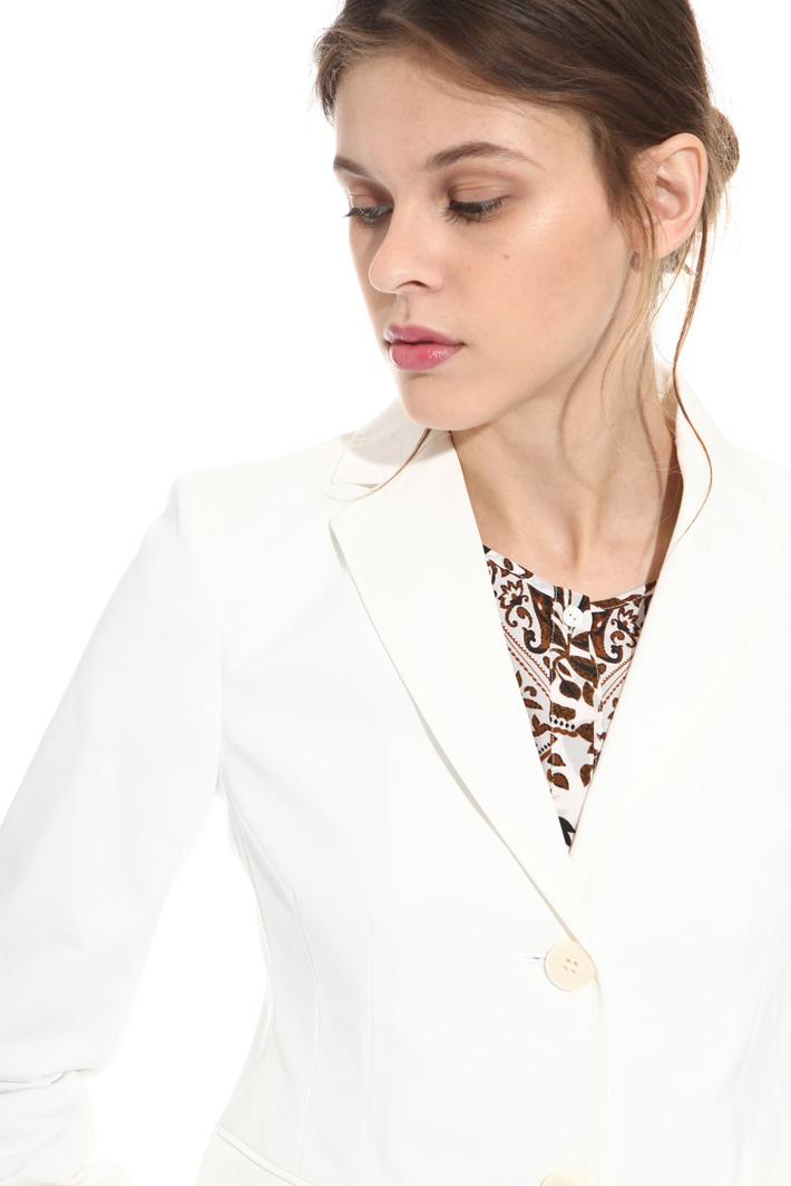 Cotton gabardine jacket  Intrend
