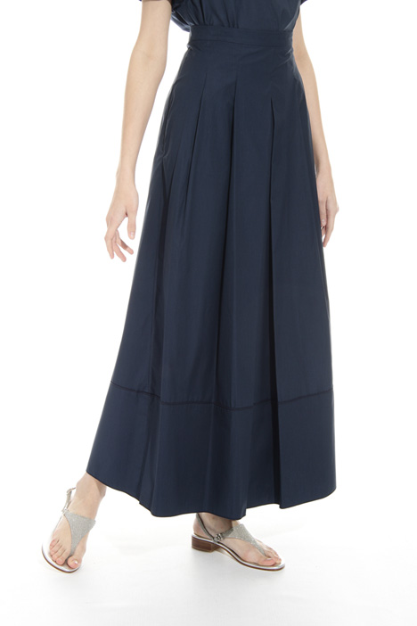 Wide pleated skirt Intrend