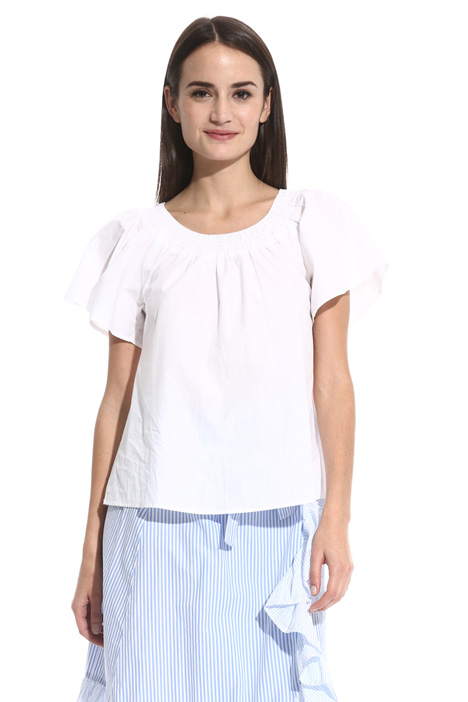 Flounce sleeve top Intrend