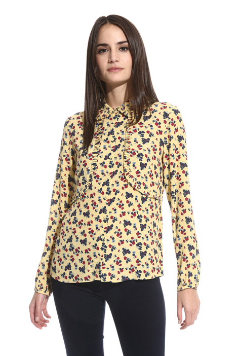 Fluid crepe shirt Intrend