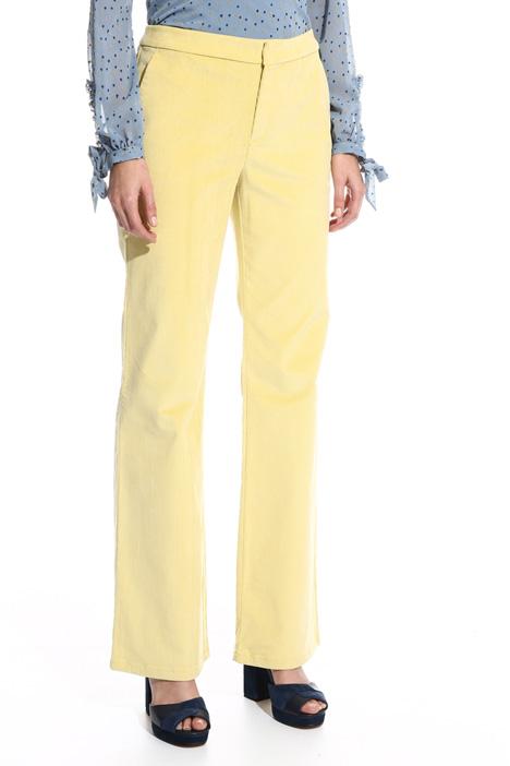 Pantalone lungo in velluo Diffusione Tessile