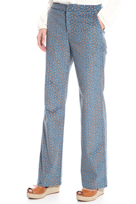 Long velvet trousers Intrend