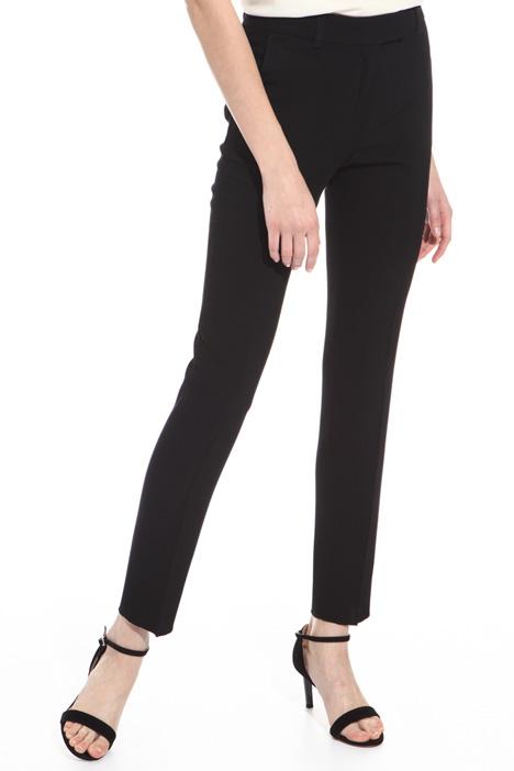 Pantalone sigaretta in cady Diffusione Tessile