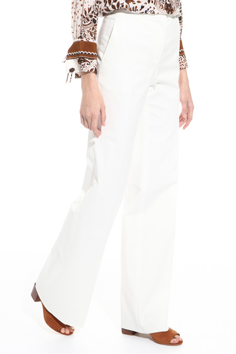 Straight leg trousers Diffusione Tessile