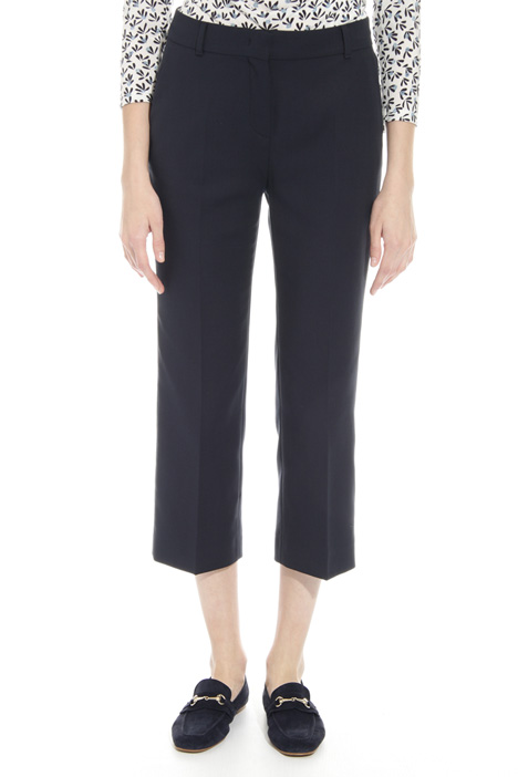 Straight cropped trousers Intrend