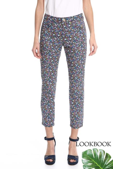 Pantalone aderente stampato Diffusione Tessile