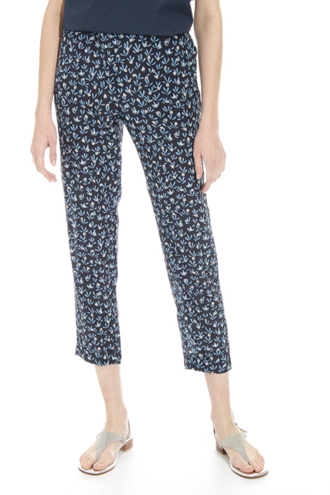 Silk jogging-style pants Diffusione Tessile