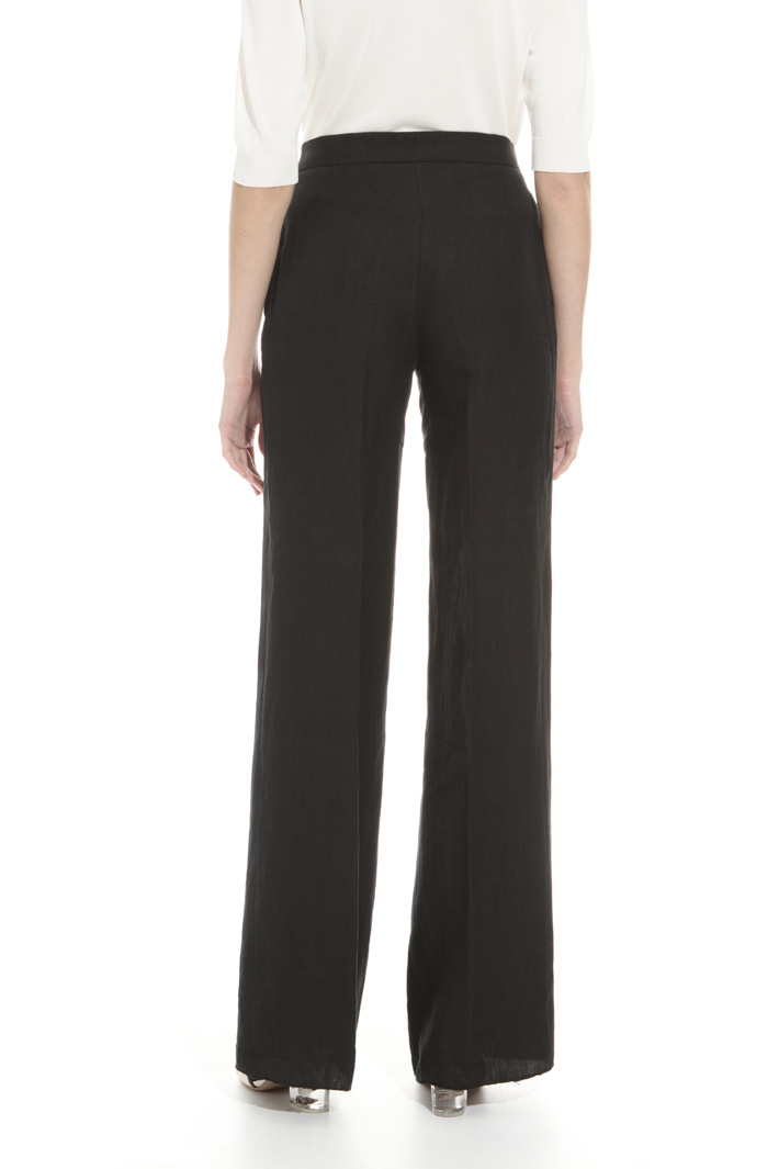 Linen and ramié trousers Intrend