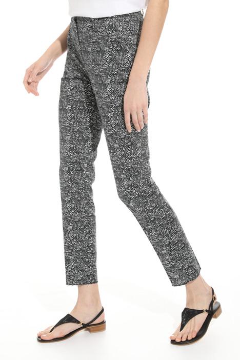 Pantalone in cotone stampato Diffusione Tessile