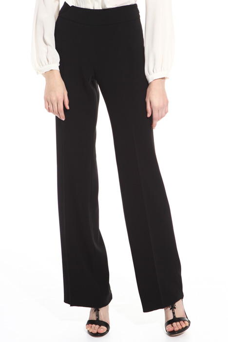 Triacetate cady trousers  Diffusione Tessile