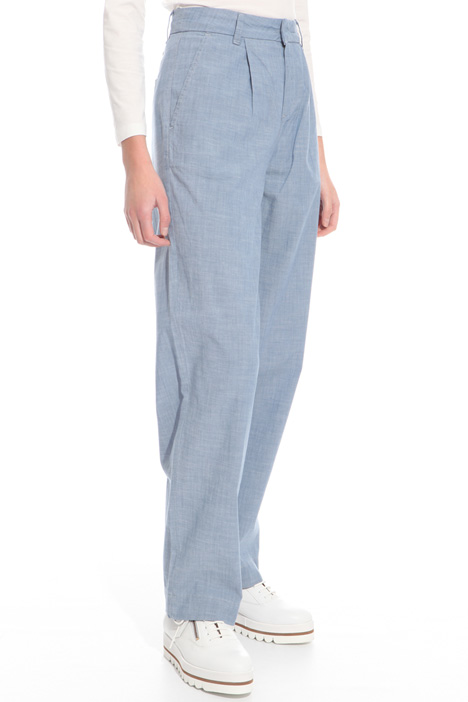 Pantalone in chambray Intrend