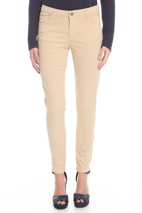 Pantalone in gabardina stretch Intrend