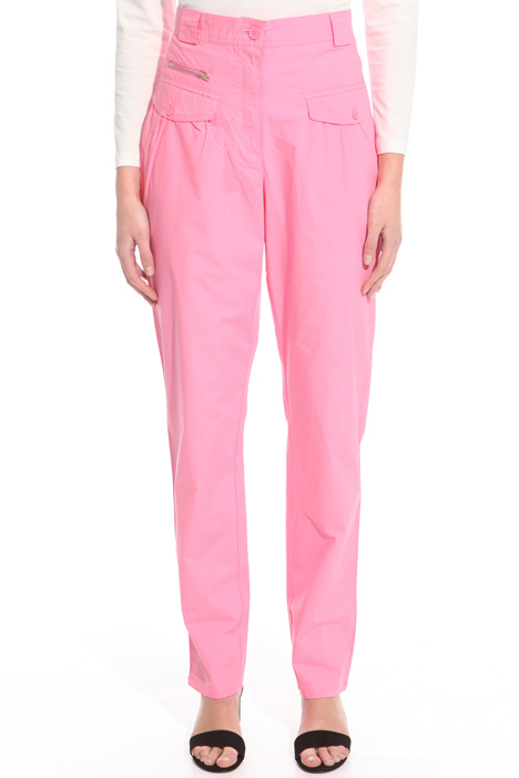 Poplin carrot trousers Intrend