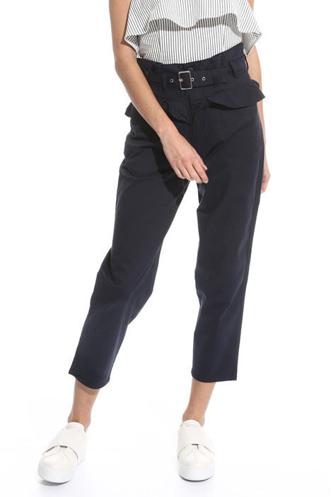 High waisted trousers Diffusione Tessile