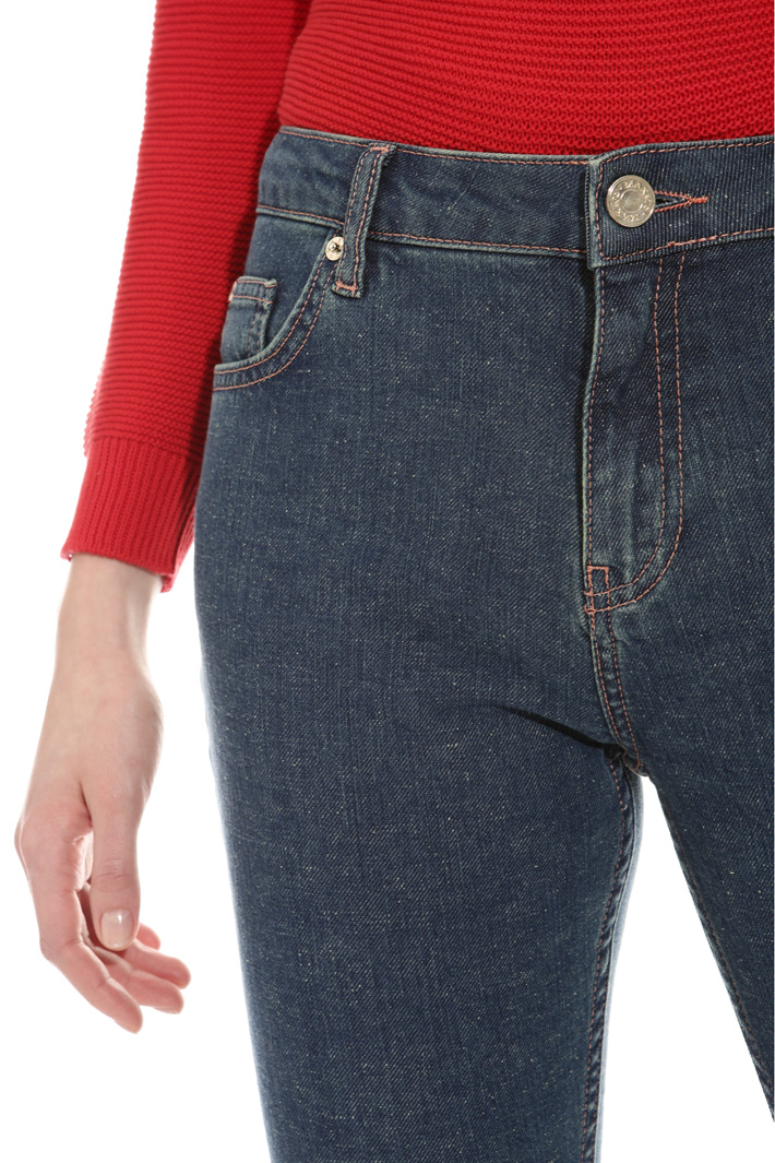 Cropped slim fit trousers Intrend