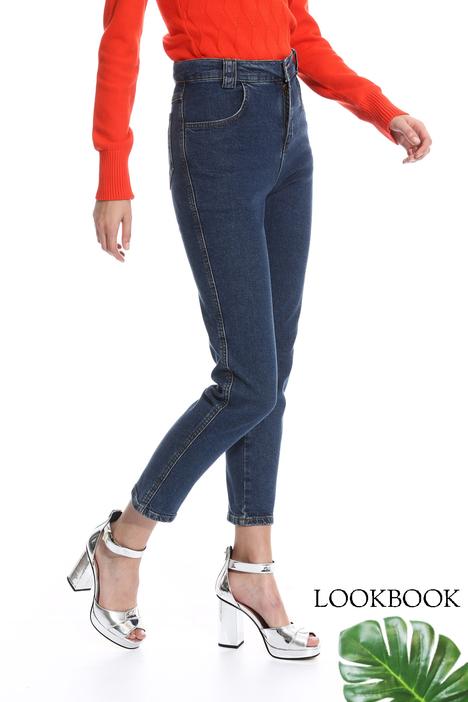Jeans aderente a vita alta Diffusione Tessile