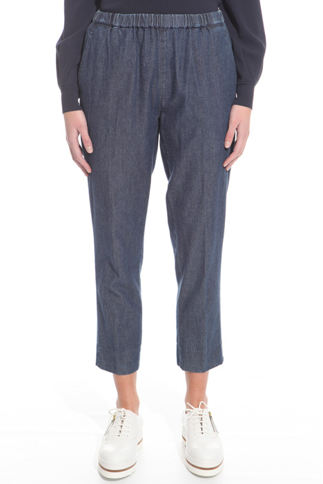 Lightweight denim trousers Diffusione Tessile