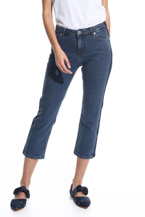Jeans Capri aderente Diffusione Tessile