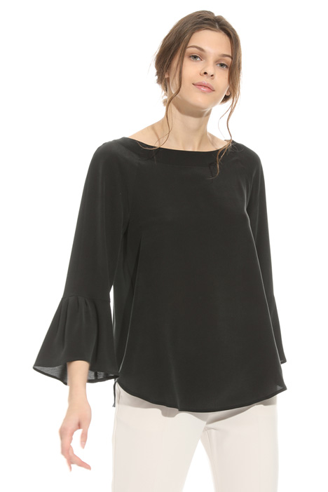 Washed silk blouse Diffusione Tessile