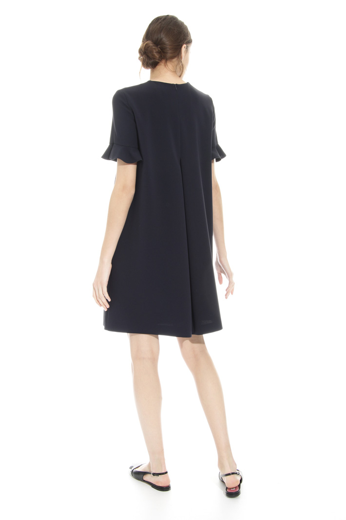 Frill trim dress Intrend