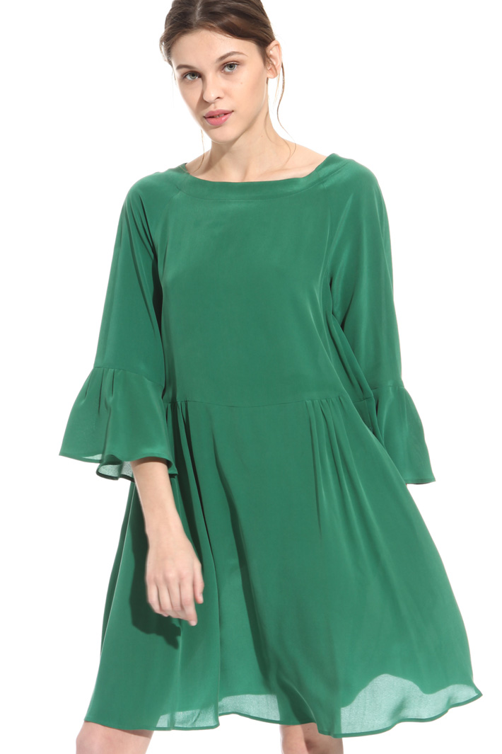 Washed silk dress  Intrend