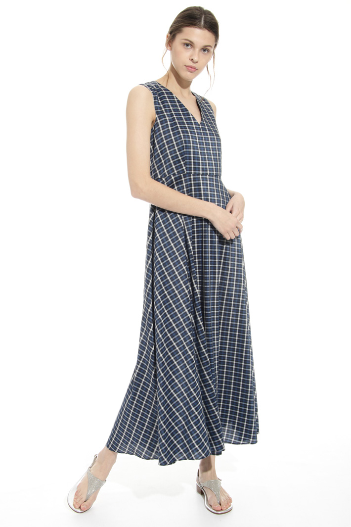 Check pattern dress Intrend