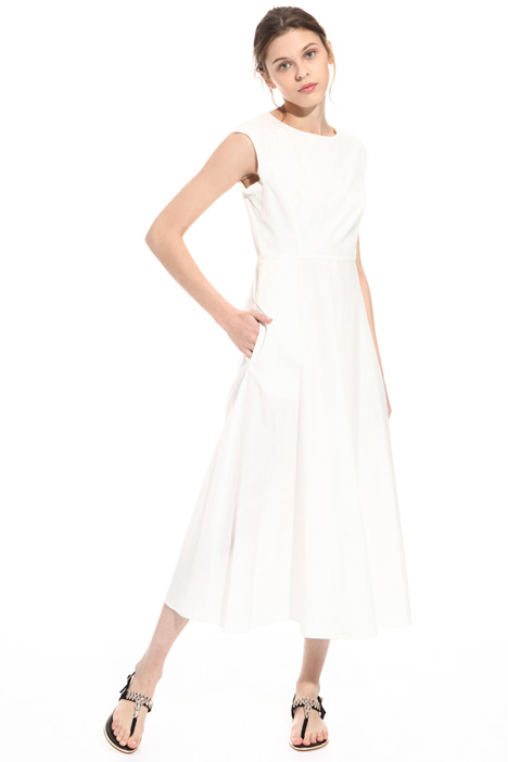 Pure cotton midi dress  Intrend