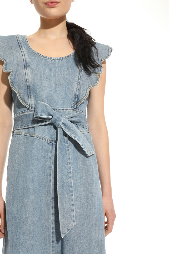 Denim dress Intrend
