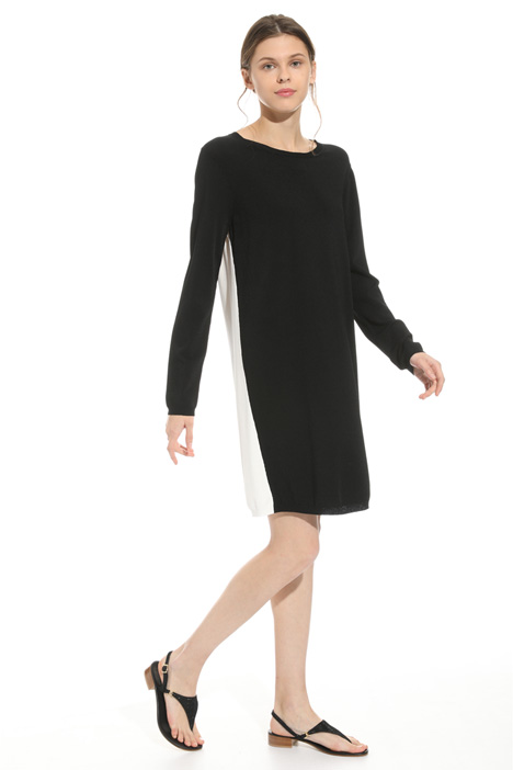 Viscose knit dress Intrend