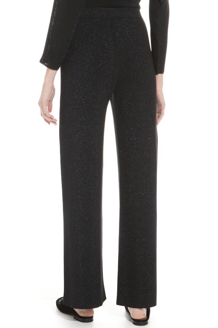 Pantalone in maglia lurex Intrend