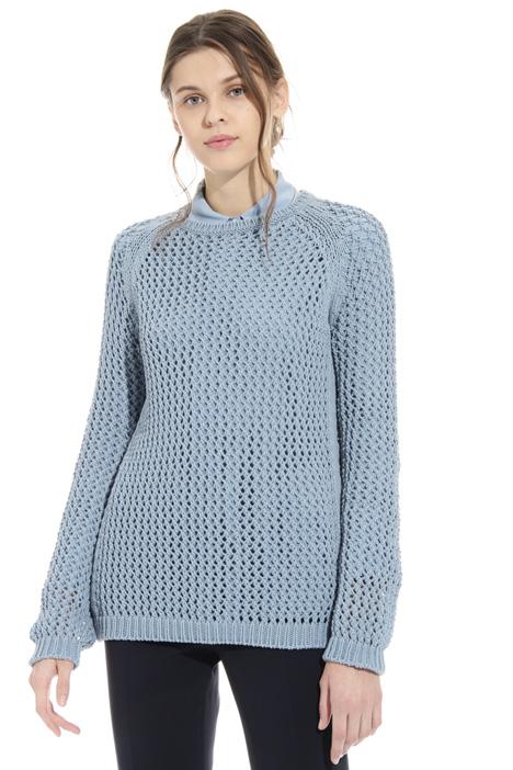 Mesh sweater Diffusione Tessile