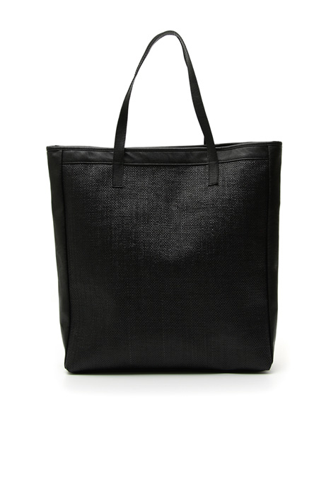 Tote bag in rafia Intrend