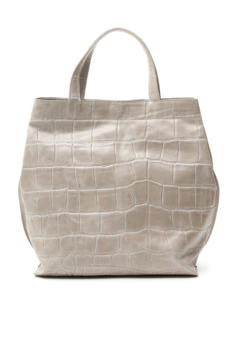 Crocodile print shopper bag Diffusione Tessile