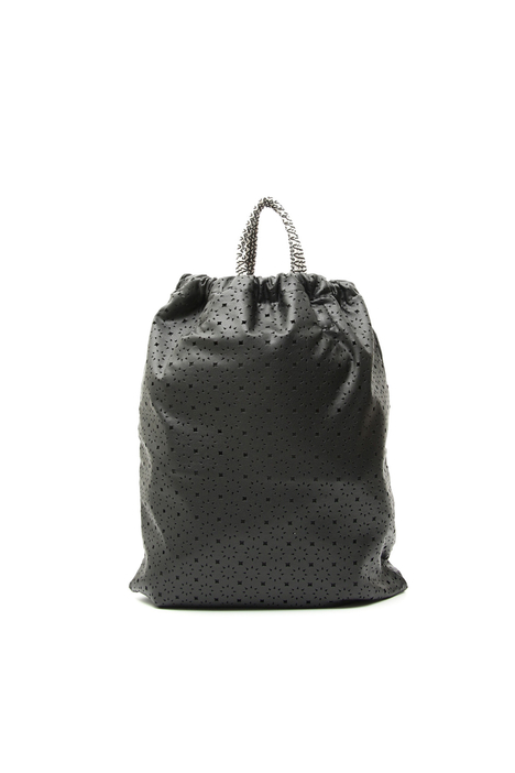 Perforated leatherette bag Diffusione Tessile