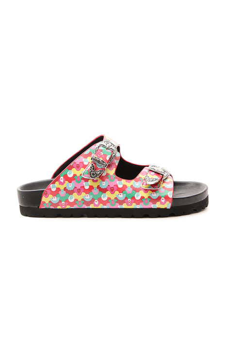 Multicolor sandal Intrend