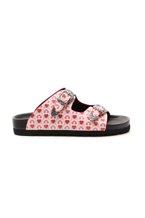 Sandalo multicolor Diffusione Tessile