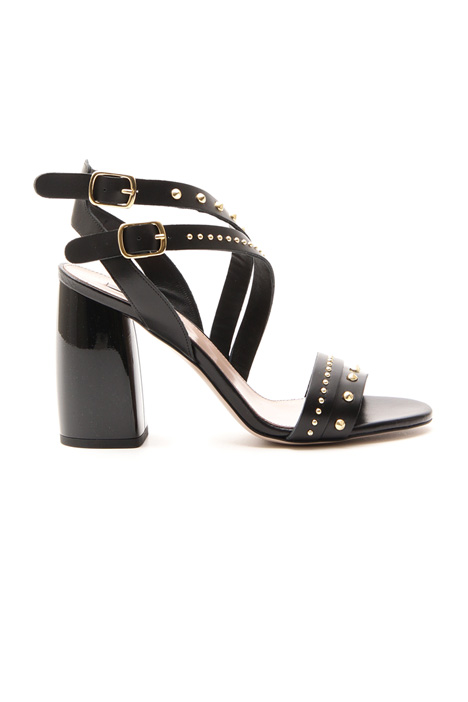 Heeled stud sandals Intrend