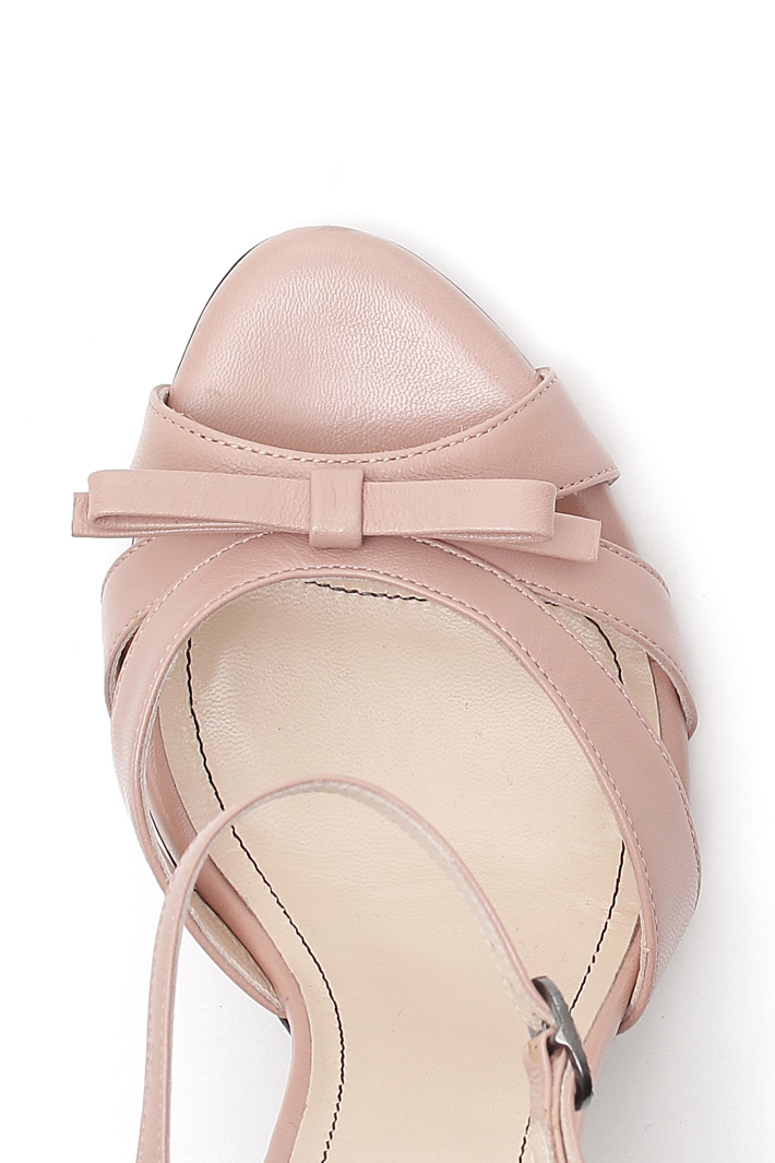 Nappa leather sandals Intrend