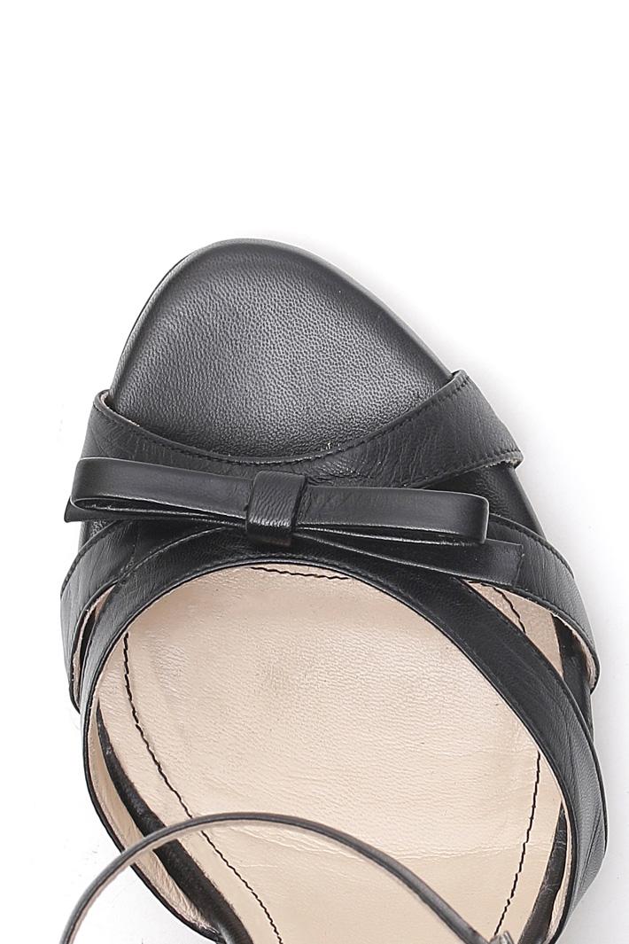 Sandali in nappa Diffusione Tessile