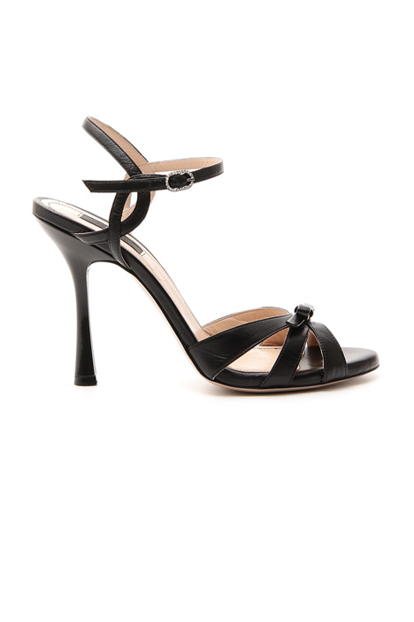 Nappa leather sandals Diffusione Tessile