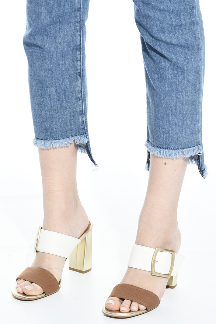 Block heel sandals Intrend
