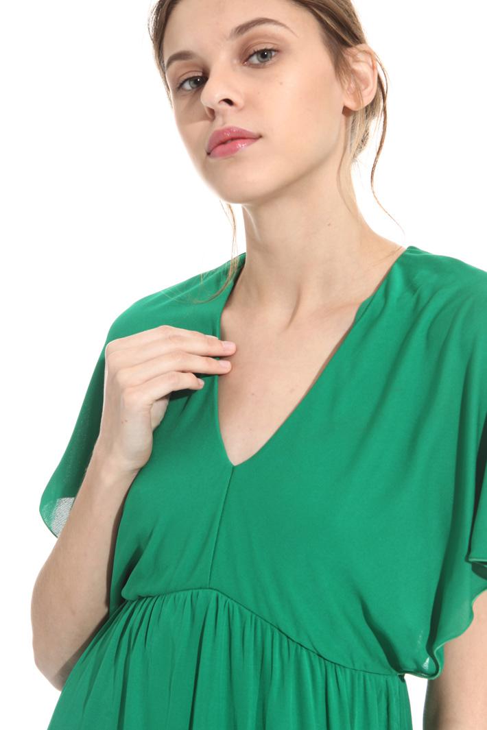 Organza jersey dress Intrend