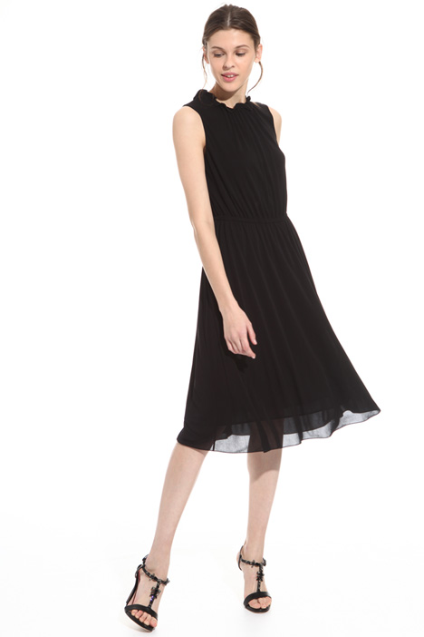 Organza jersey dress Intrend