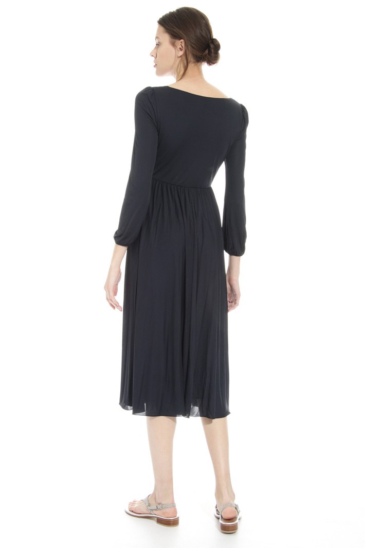 Fluid dress in viscose jersey Intrend