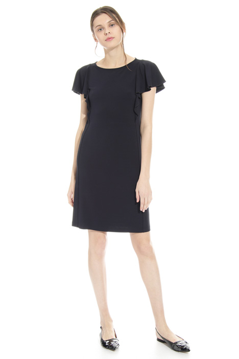 Flounced sleeve dress Diffusione Tessile