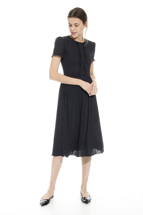 Ruched lace dress Diffusione Tessile